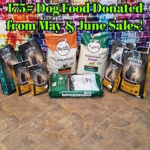 Pet Charity Sale Successful! 175# Dogfood Donated!